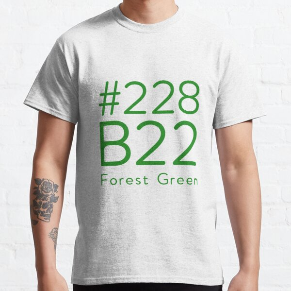 # 228B22 forest green RGB color Classic T-Shirt