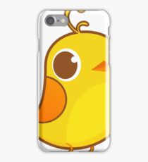 Cute Yellow Chick iPhone Case/Skin