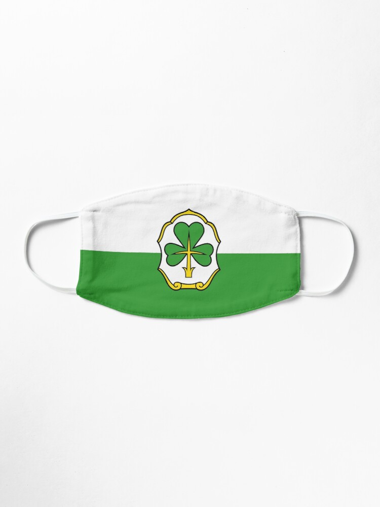 Furth Flag Baden Wurttemberg Germany Mask By Celticana Redbubble