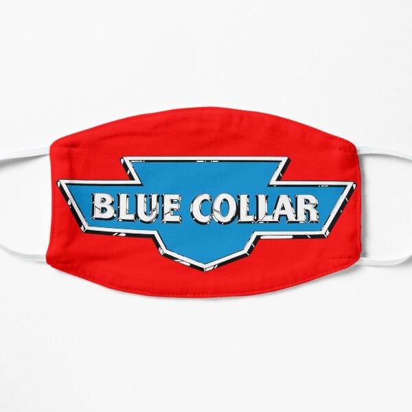 Blue Collar sticker Flat Mask