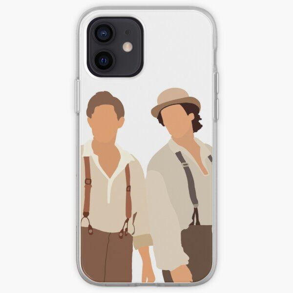 Damon and Stefan 1864 iPhone Soft Case