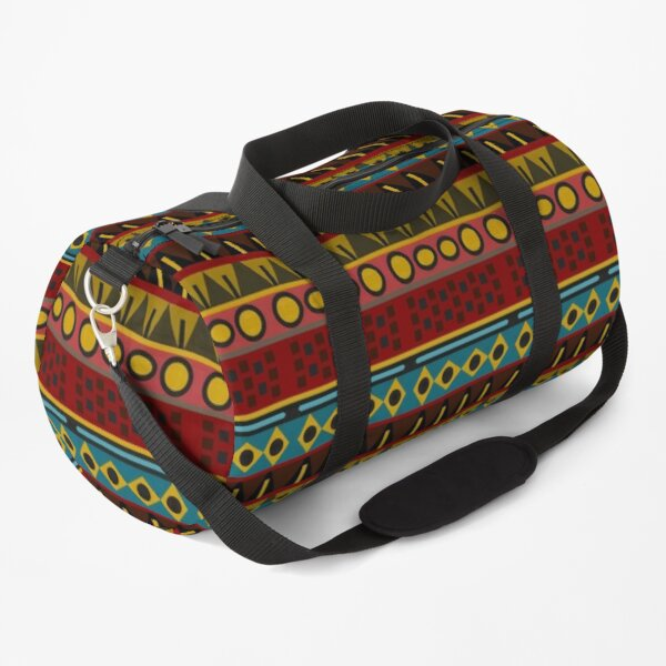 African Native Tribal Pattern On Shirts Bags And Home Decor Duffle Bag