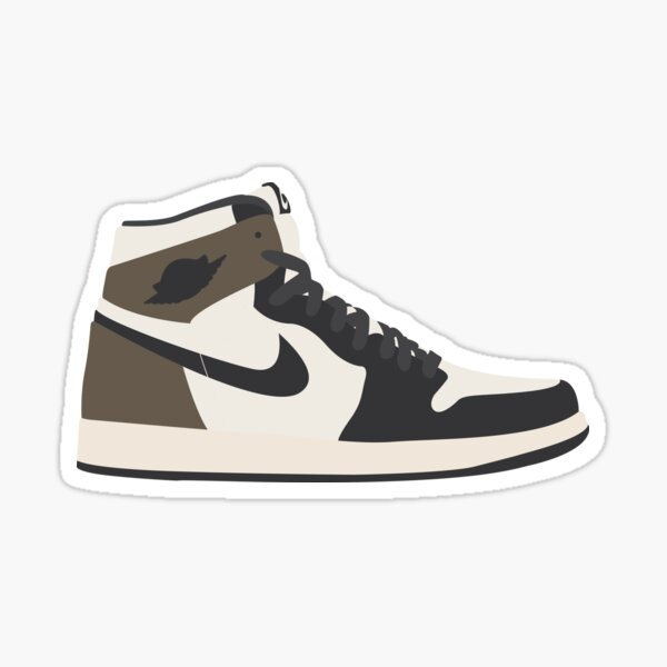 Jordan 1 dark mocha Sticker