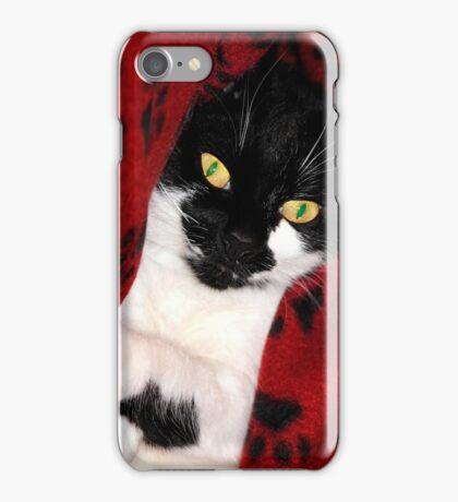 Black & White Cat iPhone Case/Skin