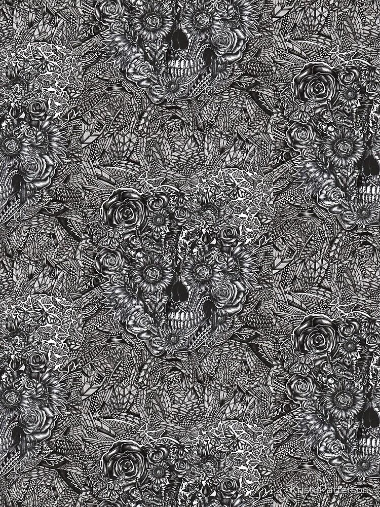 Sensory Overload Skull by KristyPatterson