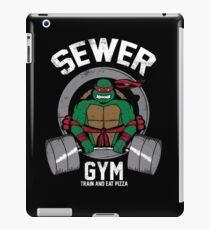 Sewer Gym iPad Case/Skin