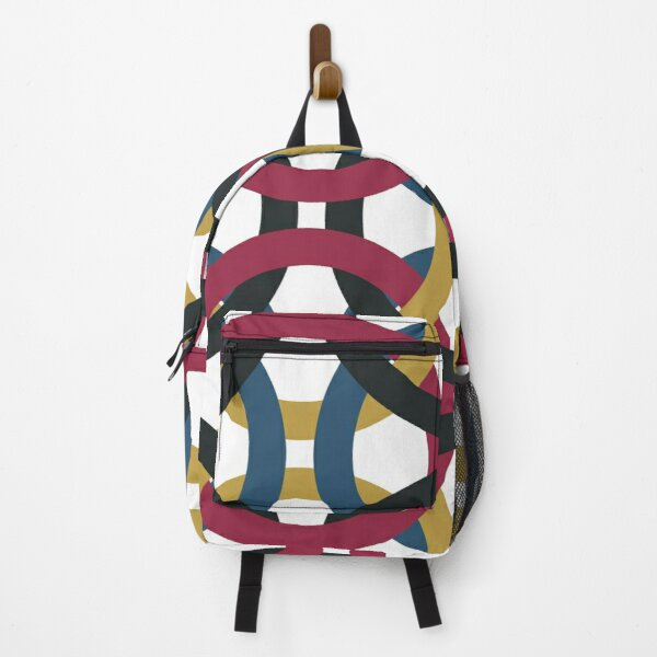Olympic Rings Sports Athletics On Shirts Bags And Gadgets Backpack