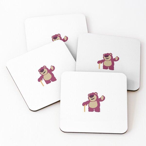 Lotso Bear Coasters (Set of 4)