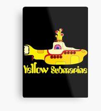 Yellow Submarine Metal Print