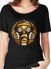 Steampunk/Cyberpunk Gas Mask #1D Women's Relaxed Fit T-Shirt