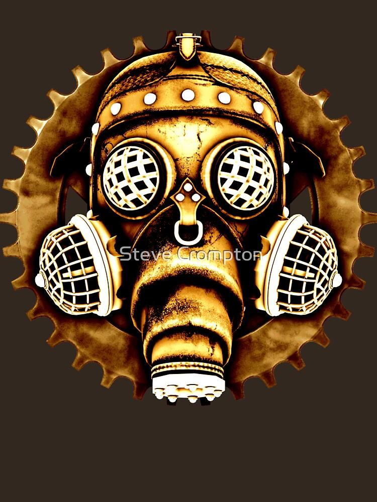 Steampunk/Cyberpunk Gas Mask #1D Steampunk T-Shirts by SC001