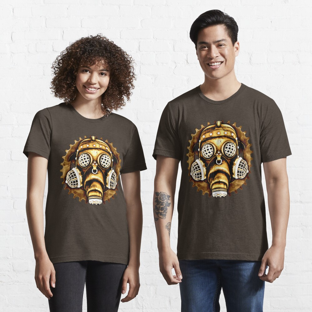 Steampunk/Cyberpunk Gas Mask #1D Steampunk T-Shirts Essential T-Shirt