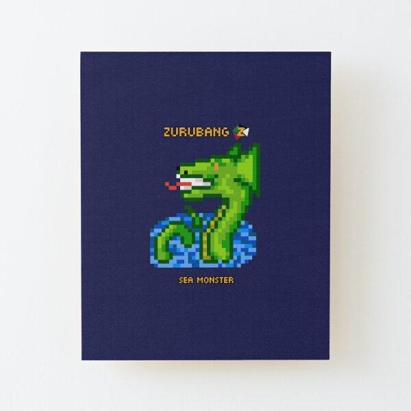 Sea Monster - Zurubang Wood Mounted Print