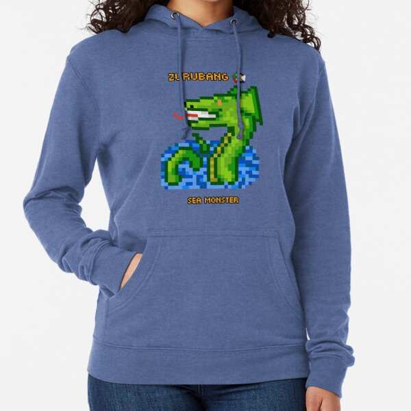 Sea Monster - Zurubang Lightweight Hoodie