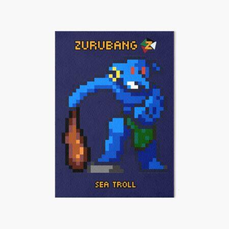 Sea Troll - Zurubang Art Board Print