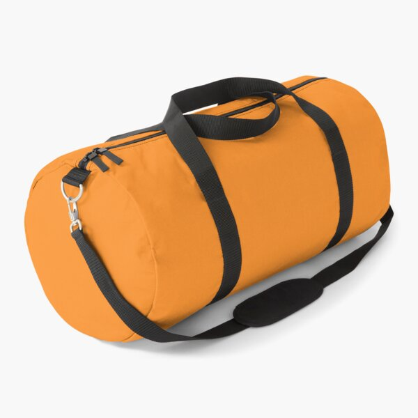 Flame Orange 15-1157 TCX | Pantone | Color Trends | London | Spring Summer 2020 | Solid Color | Fashion Colors | Duffle Bag