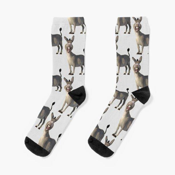 Donkey from Shrek Movie Socks