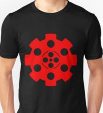 Gear - Red on Black T-Shirt
