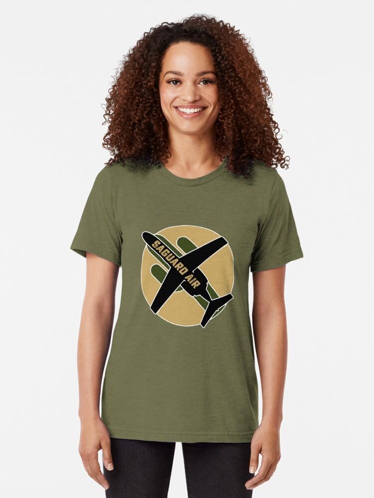 Alternate view of Saguaro Air Tri-blend T-Shirt