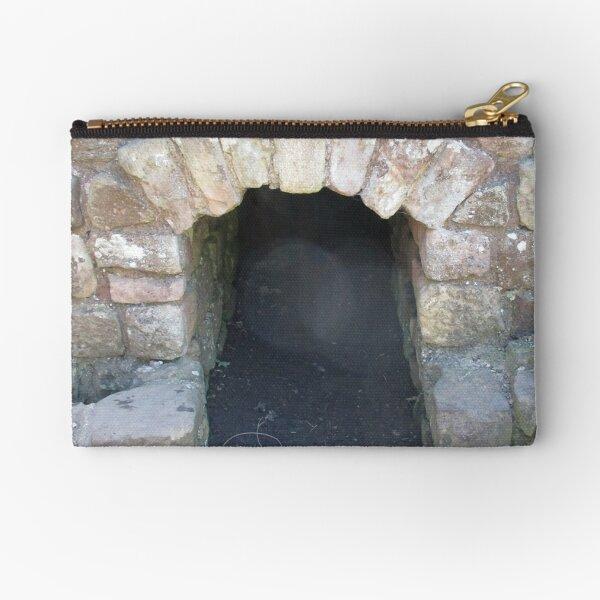 Merch #101 -- STOKE~HOLE (Hadrian's Wall) Zipper Pouch
