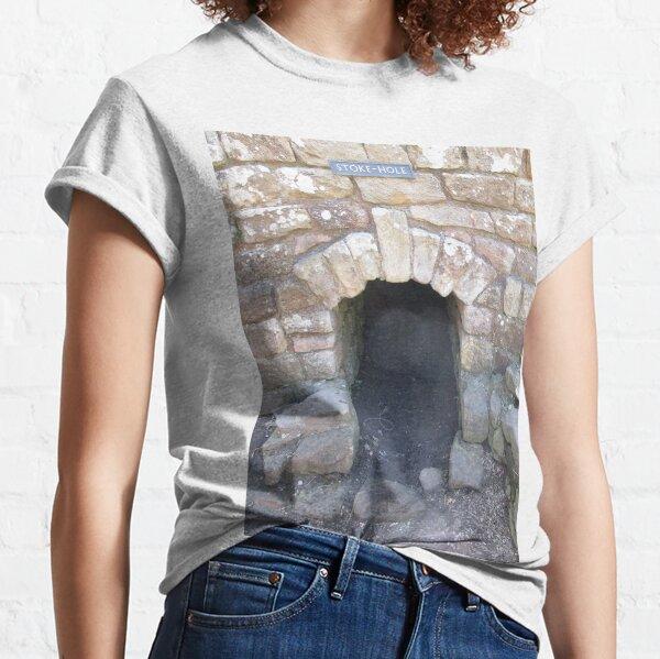 Merch #101 -- STOKE~HOLE (Hadrian's Wall) Classic T-Shirt