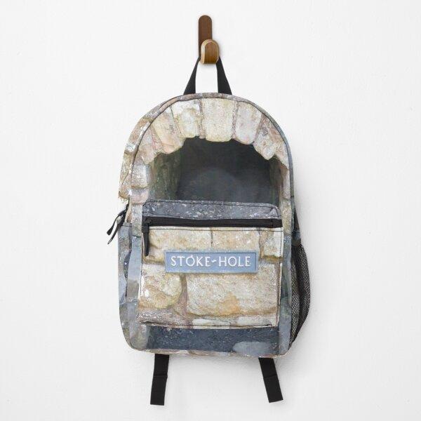 Merch #101 -- STOKE~HOLE (Hadrian's Wall) Backpack
