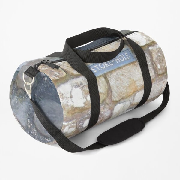 Merch #101 -- STOKE~HOLE (Hadrian's Wall) Duffle Bag