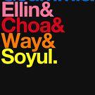 Crayon Pop goes Helvetica (Color) by merimeaux