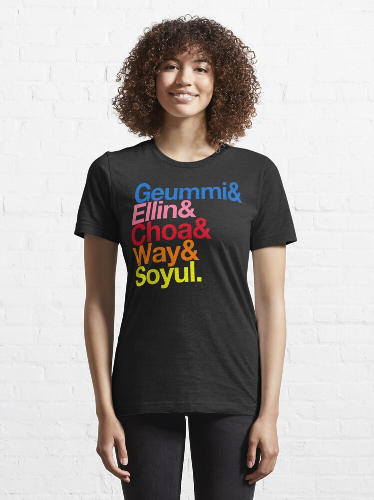 Alternate view of Crayon Pop goes Helvetica (Color) Essential T-Shirt