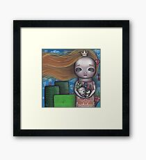 Video Game Princess Framed Print