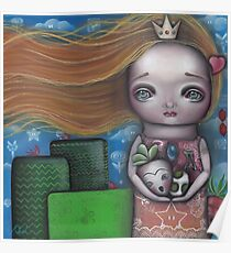 Video Game Princess Poster