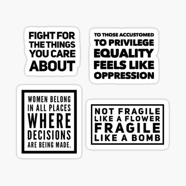 Ruth Bader Ginsburg Quotes Sticker Pack Sticker