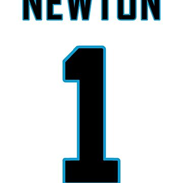 Cam Newton Football Jersey  by altick25