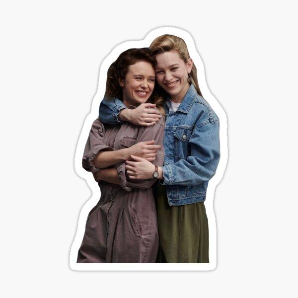 Dani and Jamie Sticker