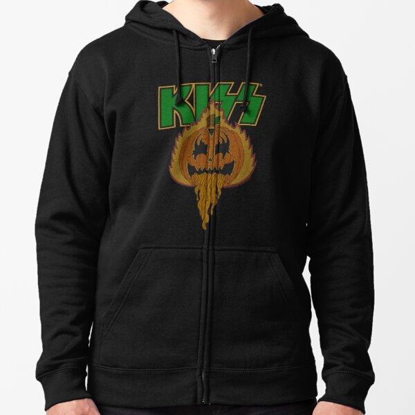 Demon In The Pumpkin Patch Zipped Hoodie