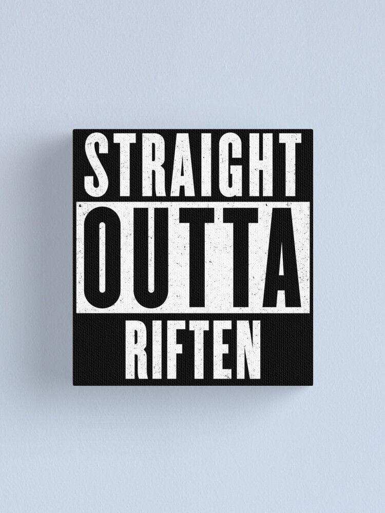 Alternate view of Straight outta Riften Canvas Print