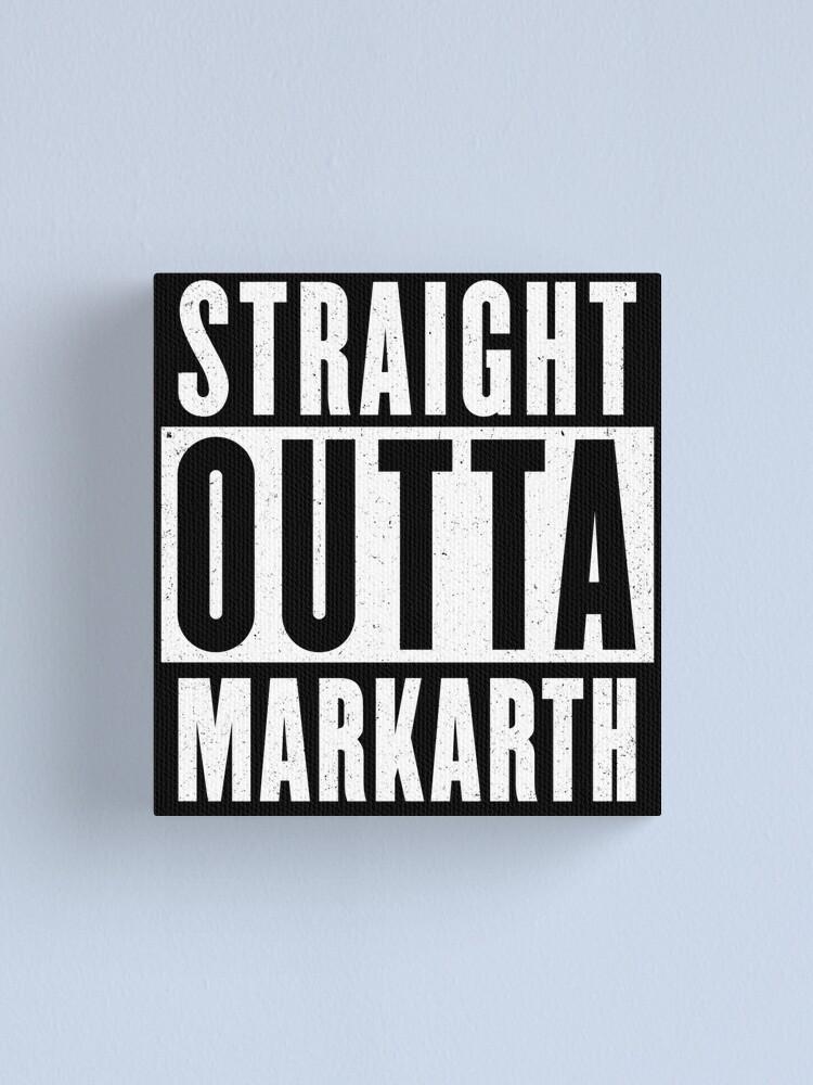 Alternate view of Straight outta Markarth Canvas Print