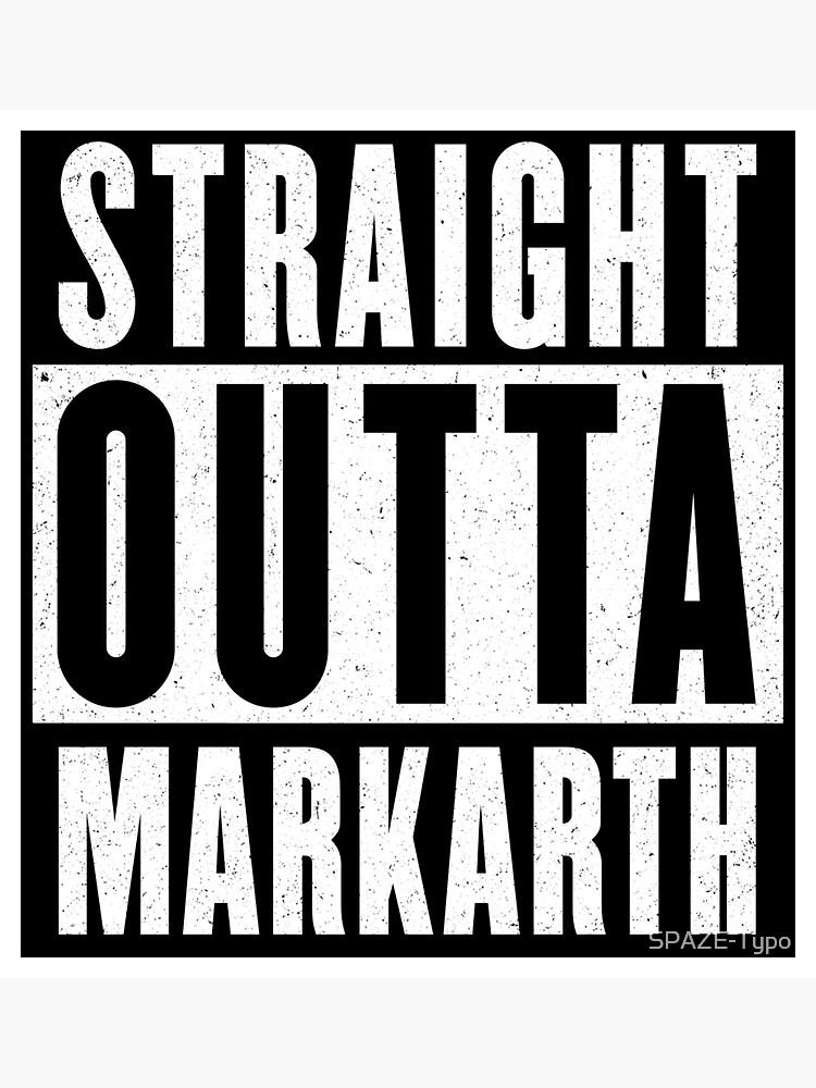 Straight outta Markarth by SPAZE-Typo