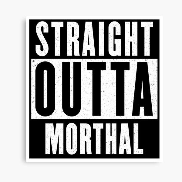 Straight outta Morthal Canvas Print