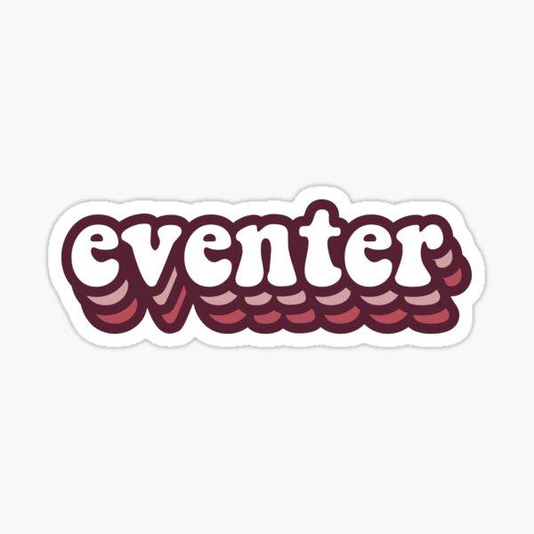 Retro Eventer Sticker Sticker