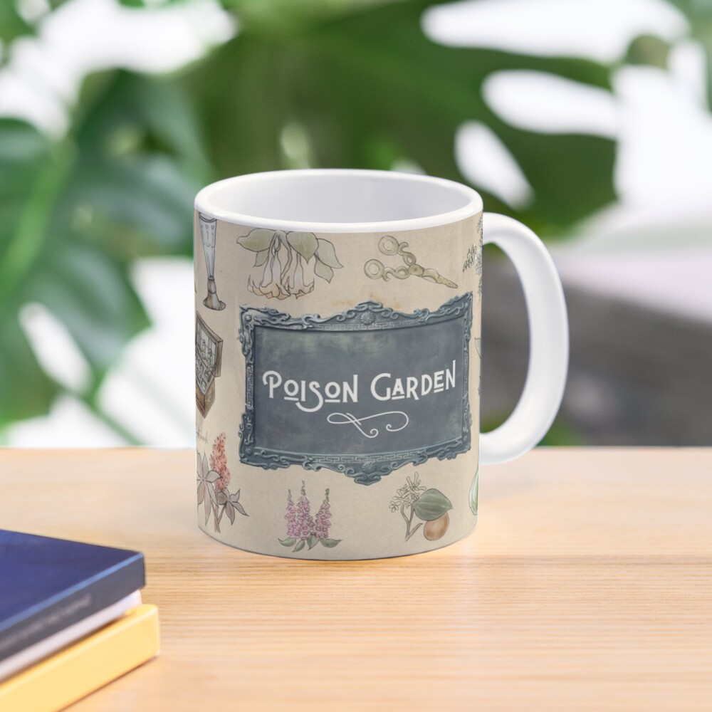Poison Garden Illustration in Watercolor Mug