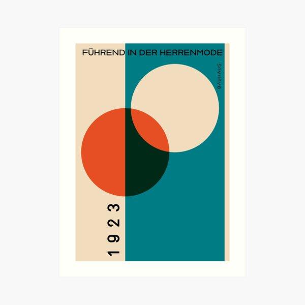 Bauhaus 1923 Lámina artística
