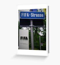 Fifa Headquarters Greeting Card