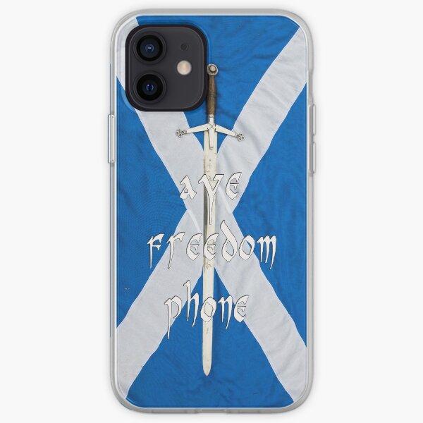 aye freedom phone..tae celebrate Bannockburn iPhone Soft Case