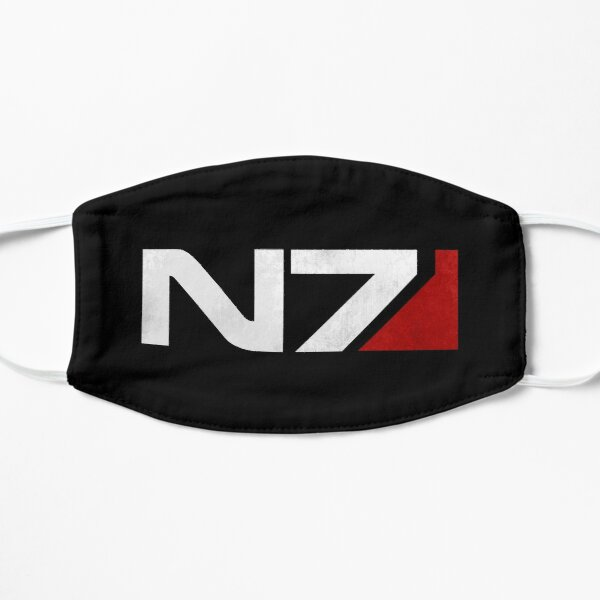 Mass Effect N7 Flat Mask