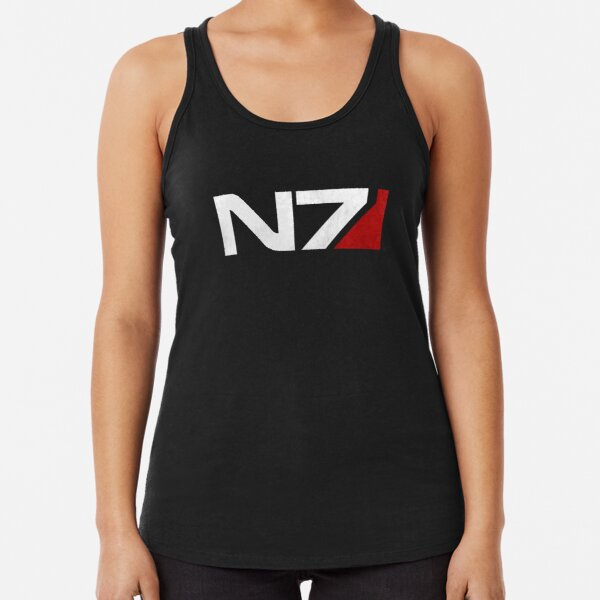 Mass Effect N7 Racerback Tank Top