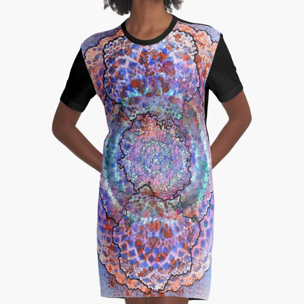 Stain 10 Graphic T-Shirt Dress