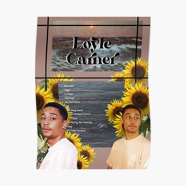 Loyle Carner - Not Waving But Drowning Poster