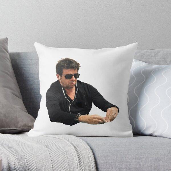 Bruel Poker Face Throw Pillow