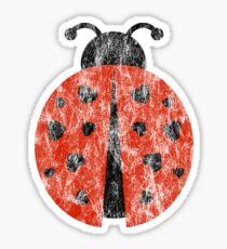 ladybug love. Sticker